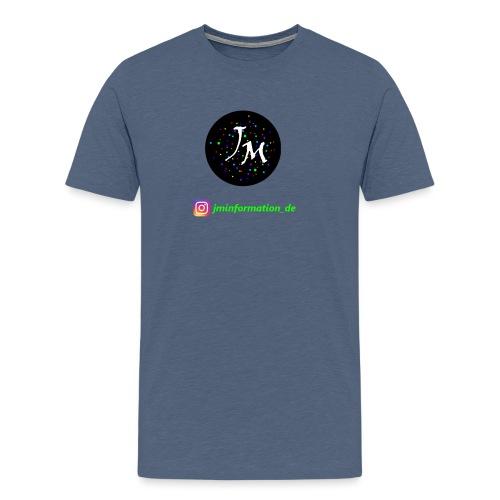 jminformation-Logo - Männer Premium T-Shirt