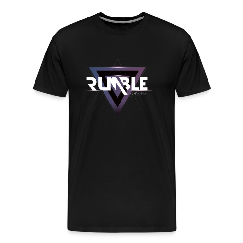 rumble techno png png - T-shirt Premium Homme