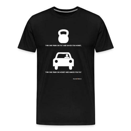 runsonfat - Premium-T-shirt herr