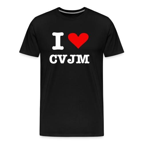 I love CVJM - Männer Premium T-Shirt