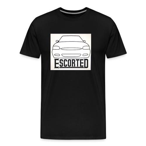 Escorted - Men's Premium T-Shirt