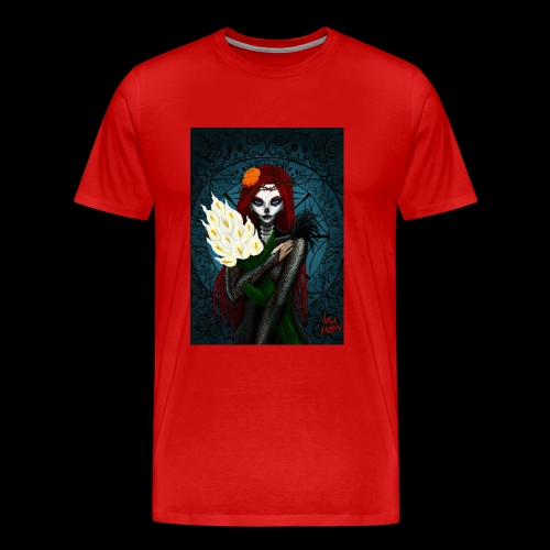 Death and lillies - Men's Premium T-Shirt