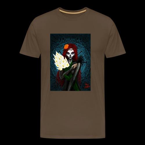 Death and lillies - Men's Premium T-Shirt