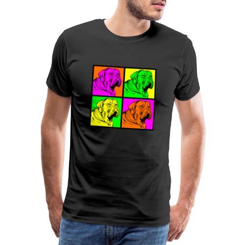 Bouledogue Anglais Couleur - T-shirt Premium Homme