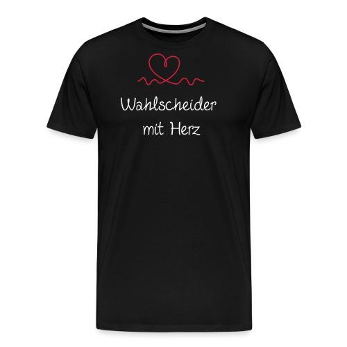 wahlscheider-mit-herz w - Männer Premium T-Shirt