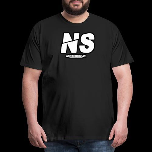 NiceSebastian - Premium T-skjorte for menn