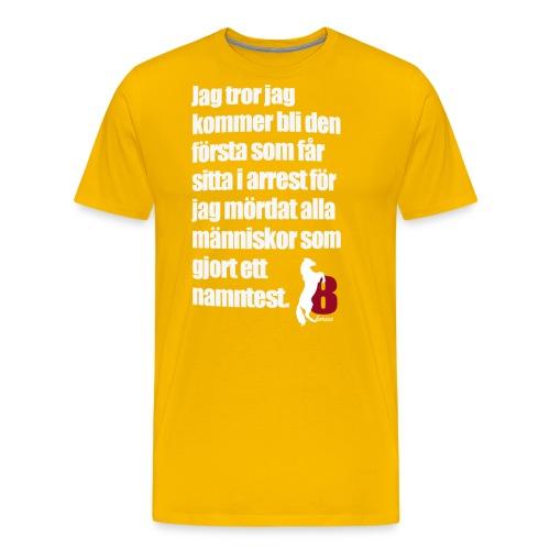 HorseBook line - Premium-T-shirt herr