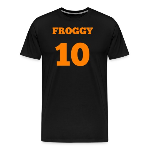 frog trans 2 1 png - Men's Premium T-Shirt