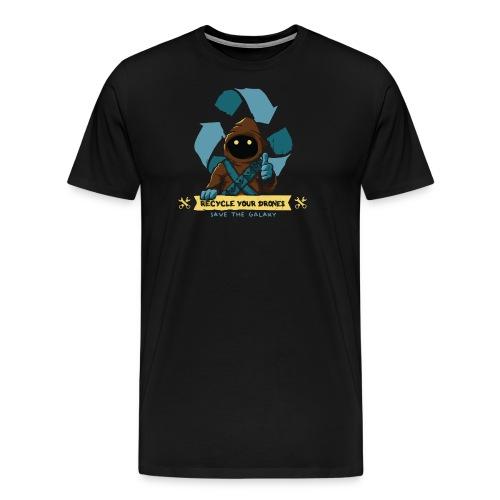 Recycle drones - Maglietta Premium da uomo