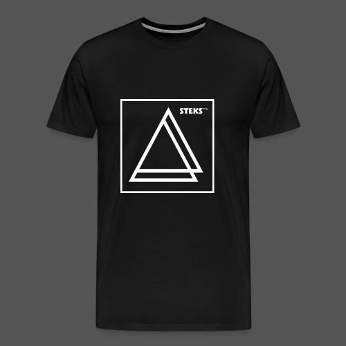 STEKS™ - Mannen Premium T-shirt