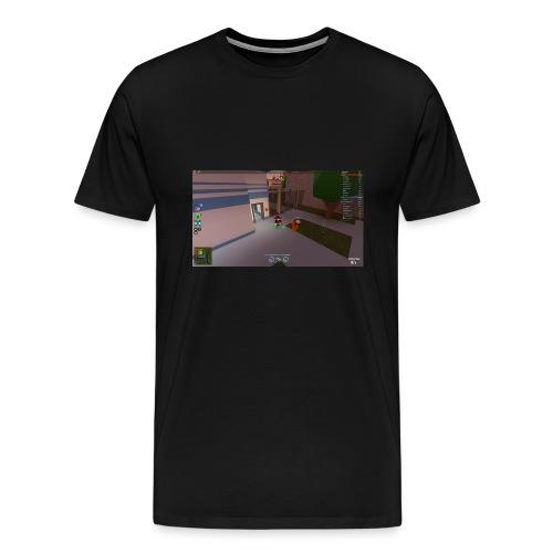 camper - Premium-T-shirt herr