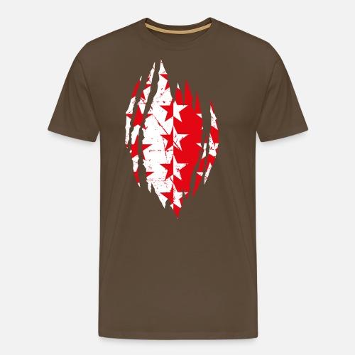 WALLISER WAPPEN RIP - Männer Premium T-Shirt