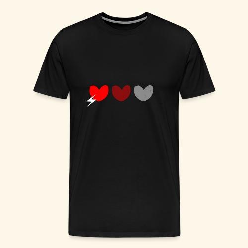 3hrts - Herre premium T-shirt