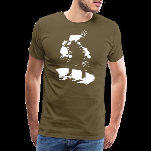 Johannes Oerding Silhouette - Männer Premium T-Shirt