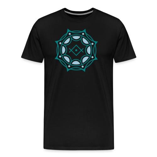Spirituelles Symbol, Gruß der Lichtarbeiter, Kryon - Männer Premium T-Shirt