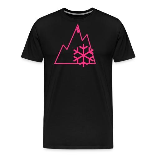 schneeberge - Männer Premium T-Shirt