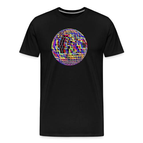 Boule à facettes psychédélique - T-shirt Premium Homme