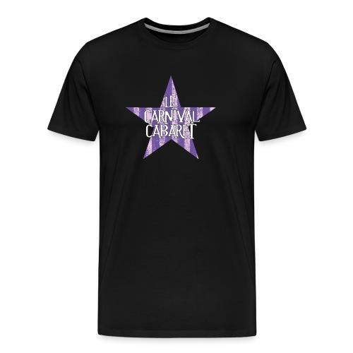 bonnet LCC noir etoie violette - Men's Premium T-Shirt