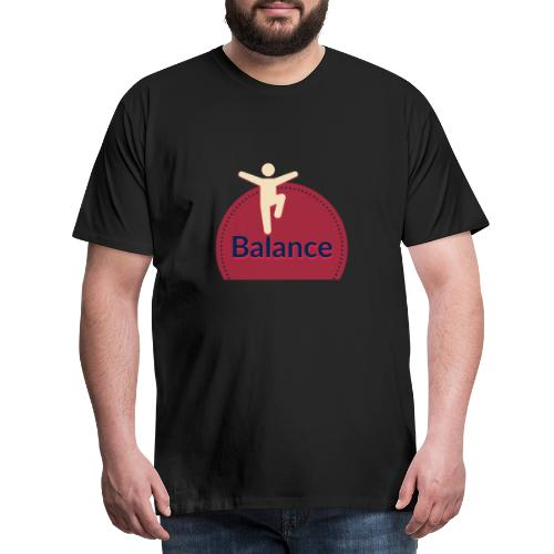 Balance red - Men's Premium T-Shirt