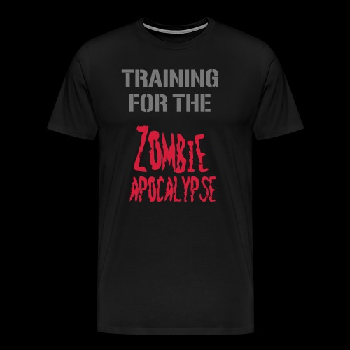 Zombie Apocalypse - Männer Premium T-Shirt