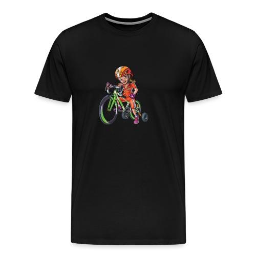 cyklistika21 - Men's Premium T-Shirt