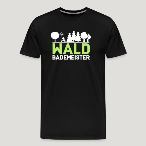 Waldbademeister für das Waldbaden im Waldbad - Männer Premium T-Shirt