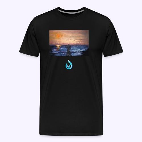 Sunrise - Maglietta Premium da uomo