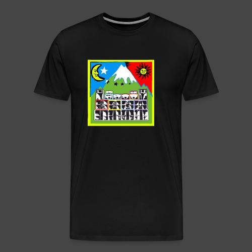 TEKNO SQUAT RESEAU couleur TRIP par TEKNO 23 - T-shirt Premium Homme