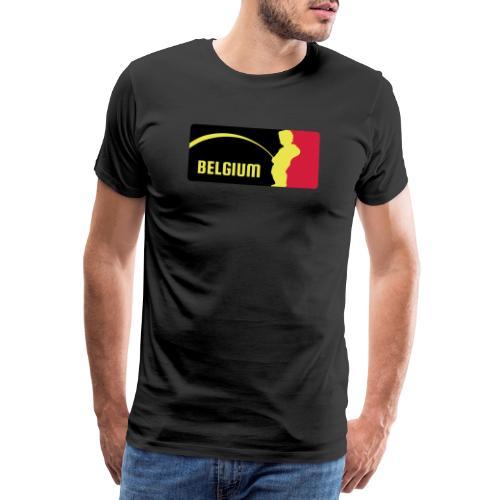 Mannekke Pis, Belgium Rode duivels - Belgium - Bel - T-shirt Premium Homme