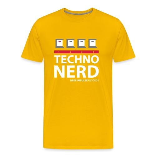 Techno Nerd - Men's Premium T-Shirt