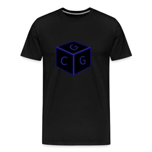 CGG Logo Cube - Men's Premium T-Shirt