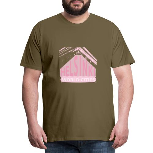 Helsinki light pink - Men's Premium T-Shirt