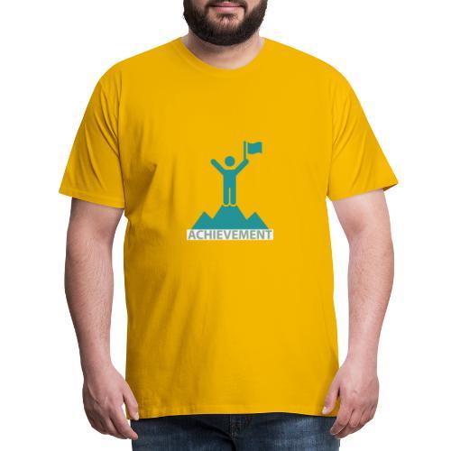 Typo Achiement by CloudMonde - Men's Premium T-Shirt