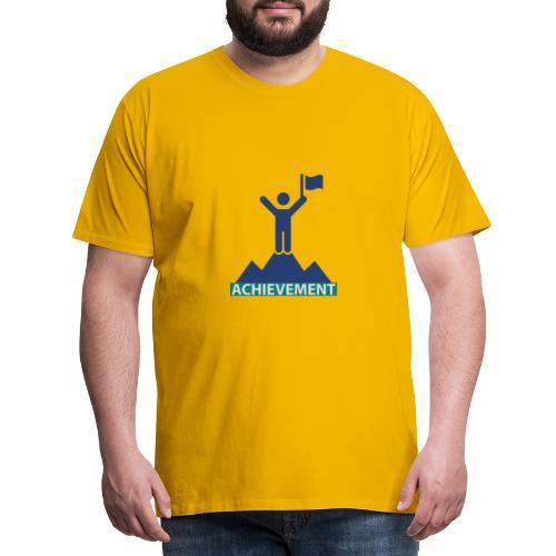 Typo Achivement by CloudMonde - Men's Premium T-Shirt