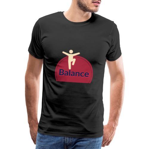 Balance red - Men's Premium T-Shirt