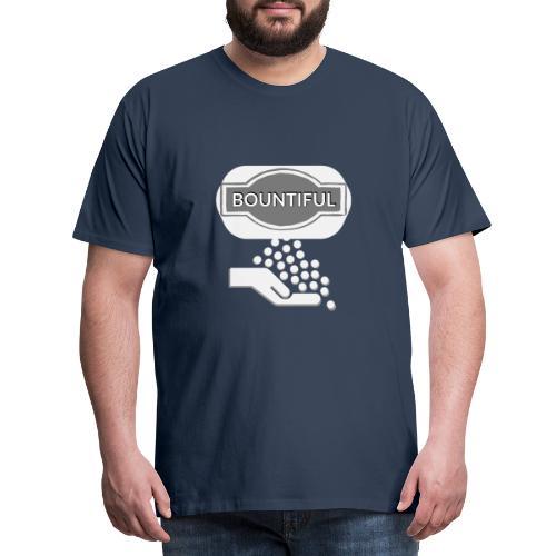 Bontiul gray white - Men's Premium T-Shirt