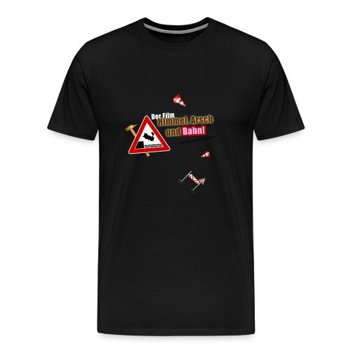 Himmel, Arsch und Bahn! - Plakat - Männer Premium T-Shirt