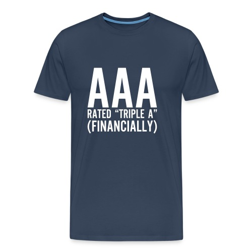 Triple A - Mannen Premium T-shirt