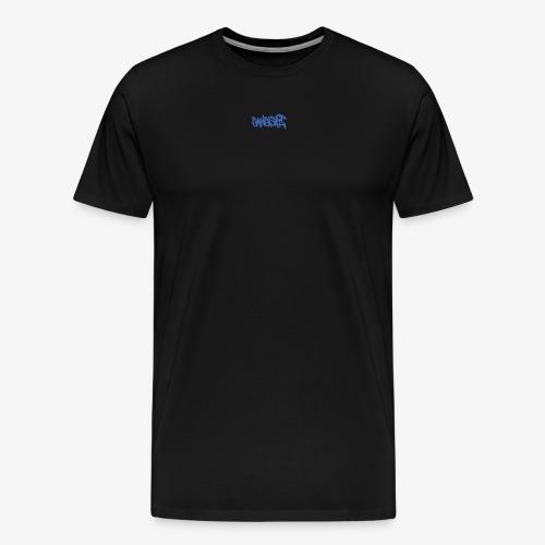 GANGSHIT GRAFFITICREW - Premium T-skjorte for menn