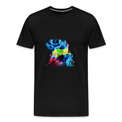 Farbexplosion - Männer Premium T-Shirt