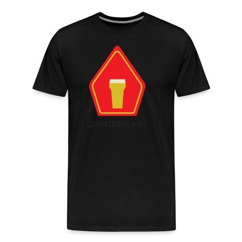 Quinterklaas shirt - mijter tekst zwart - Mannen Premium T-shirt