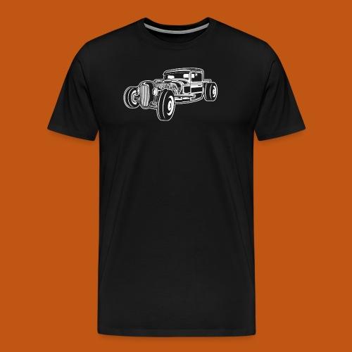 Hot Rod / Rad Rod 06_weiß - Männer Premium T-Shirt