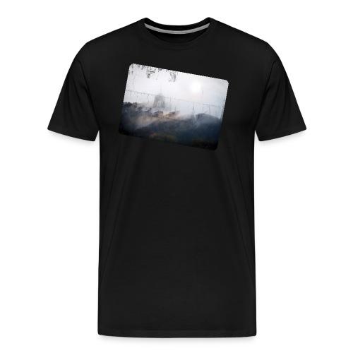 Nebel png - Männer Premium T-Shirt