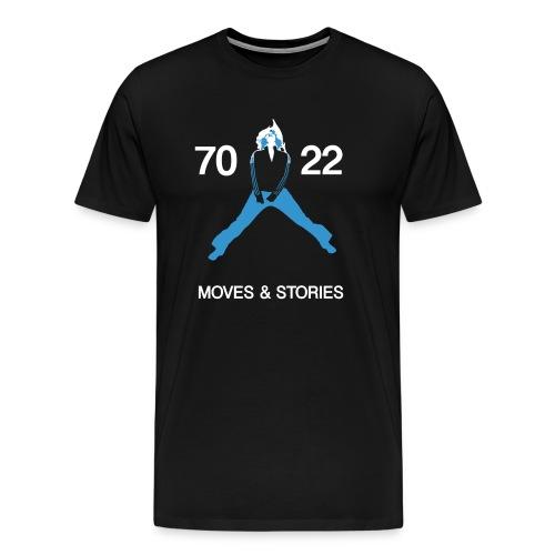 7022 Moves & Stories (Männer Shirt) - Männer Premium T-Shirt