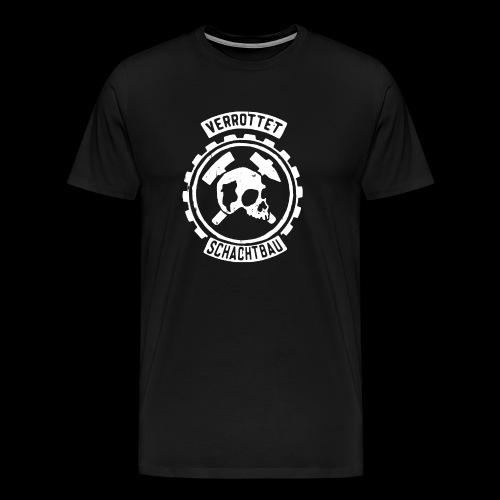 Verrottet Schachtbau - Männer Premium T-Shirt