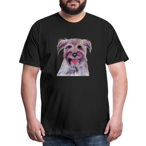 pyrenean shepherd - Herre premium T-shirt