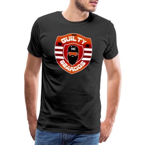 HC Guilty Beardos - Miesten premium t-paita