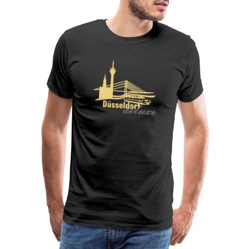 Düsseldorf Deluxe Motiv - Männer Premium T-Shirt