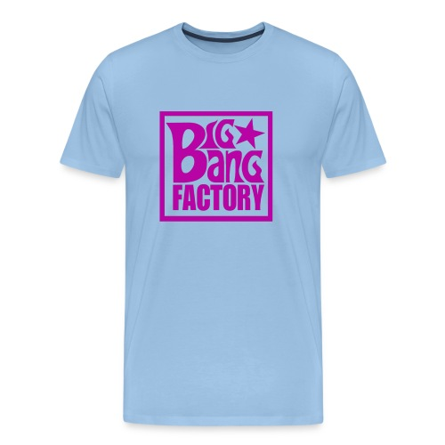 LOGOSTARWHITEBIGPINKPNG png - T-shirt Premium Homme