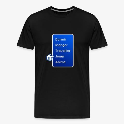 Menu > Jouer - T-shirt Premium Homme